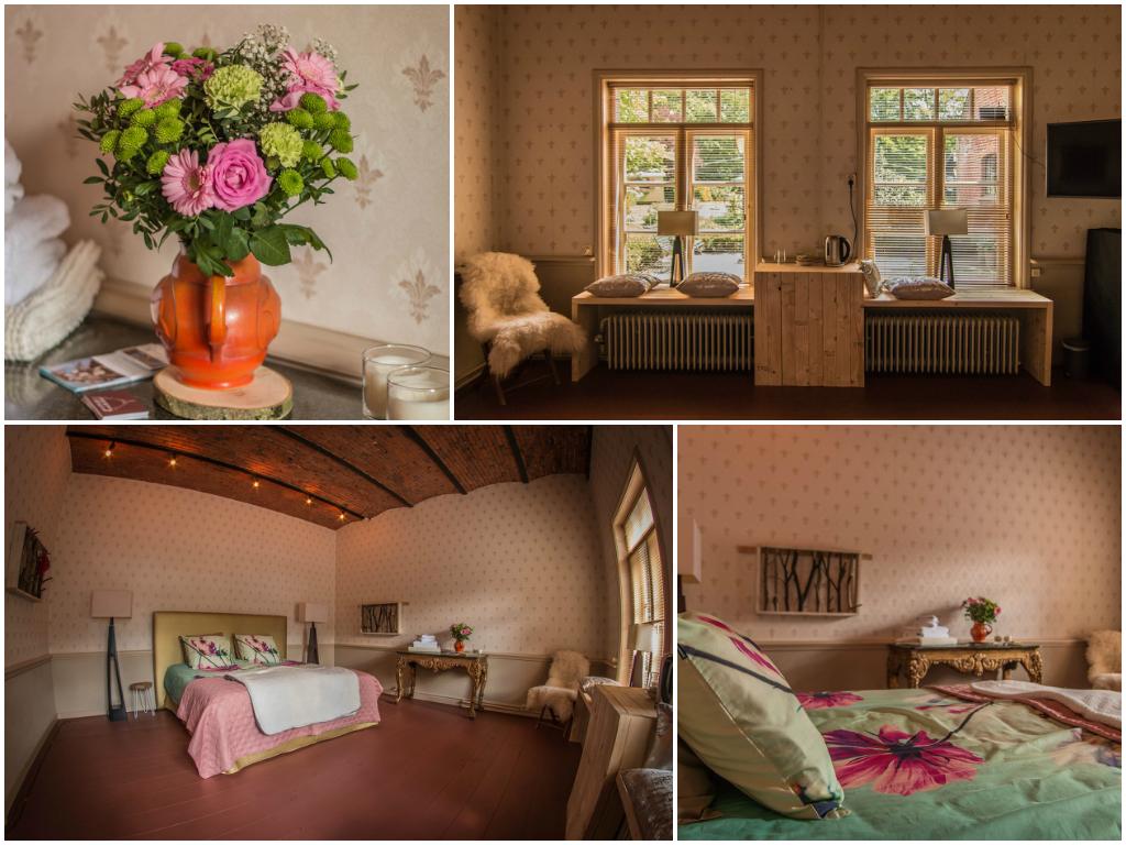 Landgoedboerderij Oosterheerdt - 'de scheperij' kamer